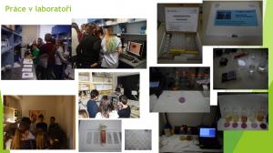 """Projekt """"Voda kolem nás"""" - ukázky práce v laboratoři"""
