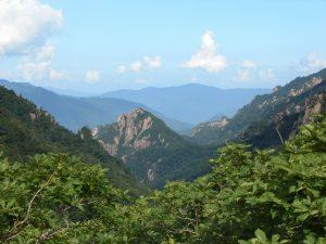 Zkoumaná oblast jižní Korea